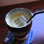 アンズカフェ - 王林リンゴジュース