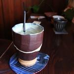 アンズカフェ - 良い感じのコップ