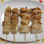 越川鶏肉店 - 料理写真:塩肉、塩軟骨