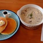 カフェナナラ - 日替りスープセット