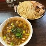 76675638 - そぼろと白湯スープのカレーつけ麺