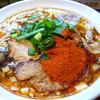 辛口炙り肉ソバ ひるドラ - 料理写真: