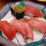 もりもり寿司 - 料理写真:まぐろセット