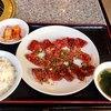 焼肉牛心 - 料理写真:  特盛りBセット 上カルビ 980円