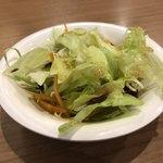 ぎゅう丸 - ミニサラダ