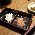 めん魚房 松月 - かき揚げの塩
