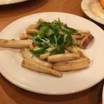 三ツ星亭 - イカバター焼