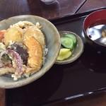 夢咲茶屋 - 料理写真:野菜天丼/430