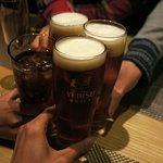 ジャパネスク コハク - 生ビールは、「琥珀ヱビス」。