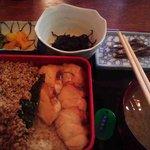 華厳 - (ランチ)きじ焼き定食¥650