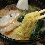 らーめんぼんくら - 麺アップ