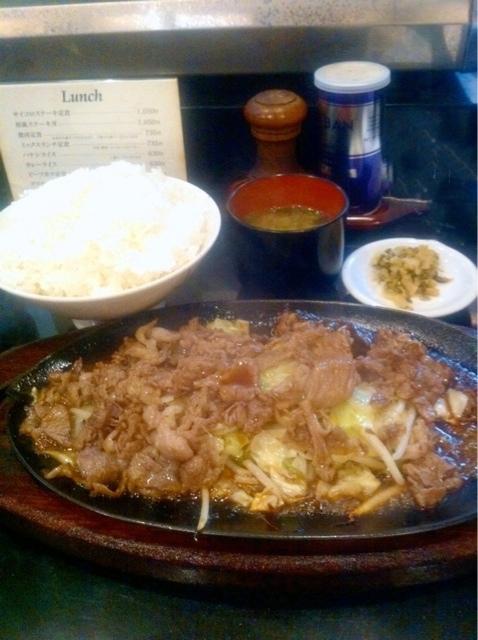 中洲ちんや - 人気No.1、焼肉定食