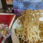 ラーメン もえぎの - 麺
