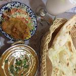 インド・パキスタン料理 ホット・スプーン - チキンカレー激辛4ランチセット