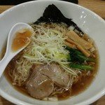 Hakatatorishioraamemmiyabiya - 醤油らぁめん 麺増し