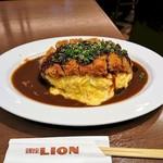 銀座ライオン  - 味噌とん オムライス
