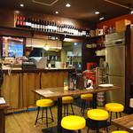 ローマ軒&ローマ酒場 - イタリアン食堂な趣の飾らぬ店内