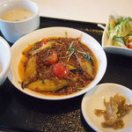 チャイニーズ 芹菜 - 日替わりランチ(麻婆ナス)