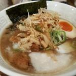 UMAMI SOUP Noodles 虹ソラ - 「鯖豚中華ソバ」(2017年11月18日)