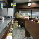 新田毎 - 店内です。