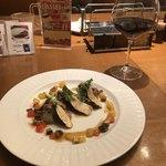 76687076 - 【秋のプチ贅沢コース】(2000円税込)松茸と国産牛フィレ肉のオーブン焼き