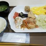 ベッセルホテル - 料理写真:モーニングビュッフェ(無料)