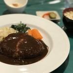木村洋食店 - トップフォト ハンバーグステーキ