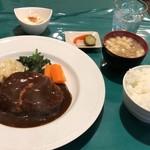木村洋食店 - ハンバーグステーキ定食