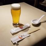 石川 - 「生ビール(プレミアムモルツ) (540円)」