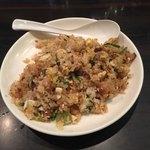 環七ラーメン 周麺 - 半チャーハン