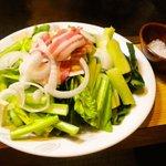 7669520 - 江戸菜いためと調味用岩塩