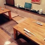 はす亭 - 奥座敷(堀ごたつ)