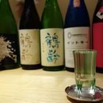 弧玖 - この日の日本酒たちと酒器