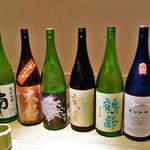 弧玖 - この日の日本酒たち
