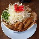 らーめん砦 木津城 - 料理写真:ネギラーメン