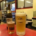 珉珉 - ビールとノンアルコールビールで乾杯!