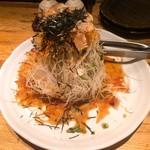 串焼き おんば - 大根のハリハリサラダ - パリパリシャキシャキ
