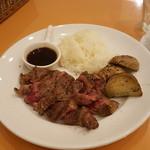 Steak&Trattoria Carnesio - USリブステーキ