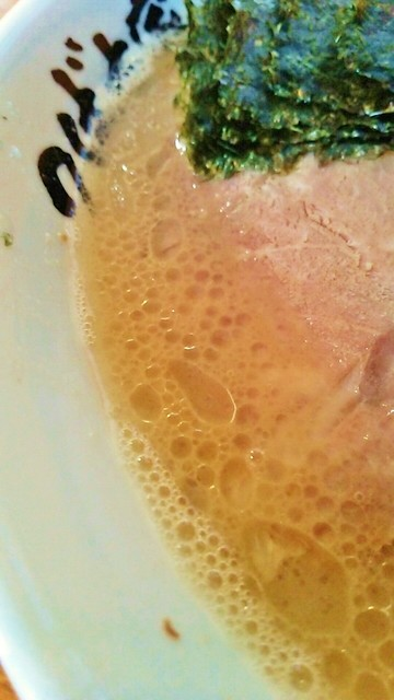つばさ家 立川店 - バランス型のスープですが温かった(+o+)