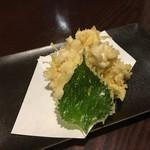 スミビヤ シンゴ - 白子天ぷら950円