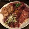まがりや - 料理写真:焼肉の4種 カルビ・ロース・ハラミ・ミノ