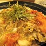 松屋 - キムチ牛とじ丼、味は想像通り(笑)