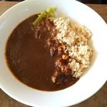 76700594 - 玄米とひよこ豆のカレー1500円