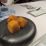レストラン カズ - カボチャのマフィン、自然の甘さでとても上品に仕上げてありました。