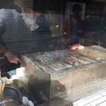 仙台牛タン 松阪鶏焼肉 福島西屋 - 外観(焼き場)