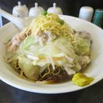 幸華 - 伊府湯麺(汁入焼そば) 1150円