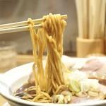 麺屋 優光 - 中太麺