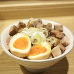 麺屋 優光 - ■焼豚丼 250円