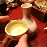 あげあげ - 日本酒を・・・