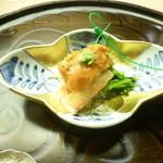 懐石料理 桝田 - 蟹と雲丹